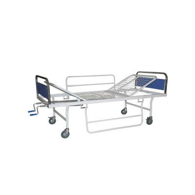 تخت ۲ شکن بیمارستانی